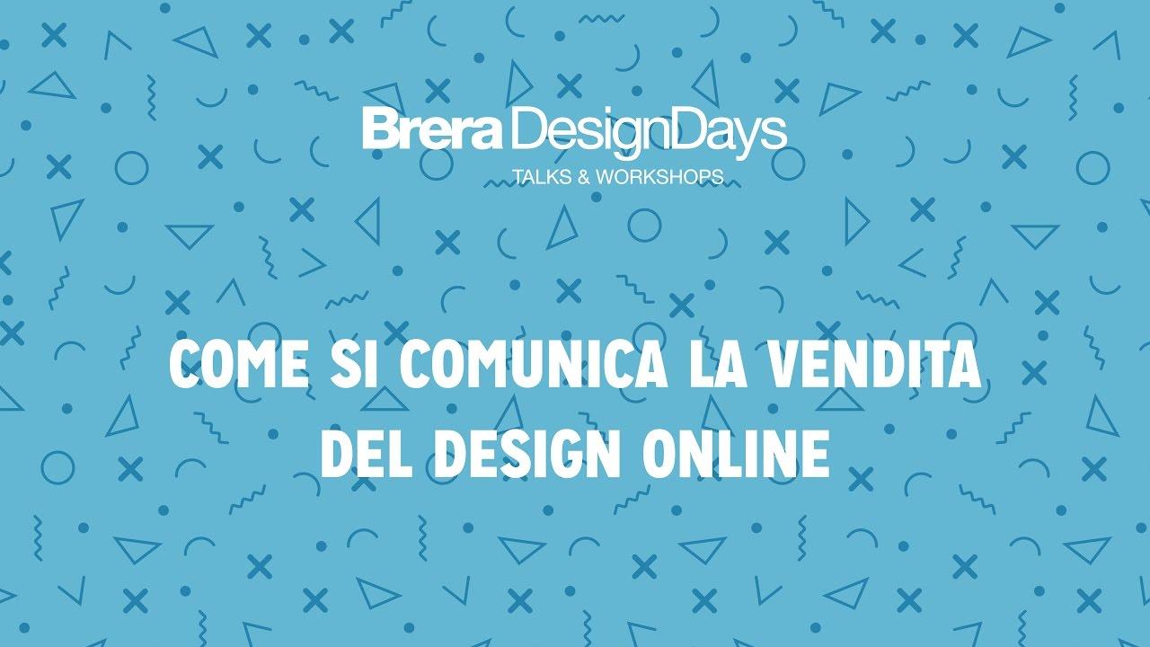Come si comunica la vendita del design online brera for Design vendita online