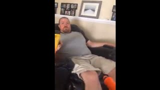 Kid Shot His Dad In The Nuts With A Nerf Gun