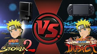 Which System Did The Best Naruto Vs Pain Boss Fight Ps3 Or Psp
