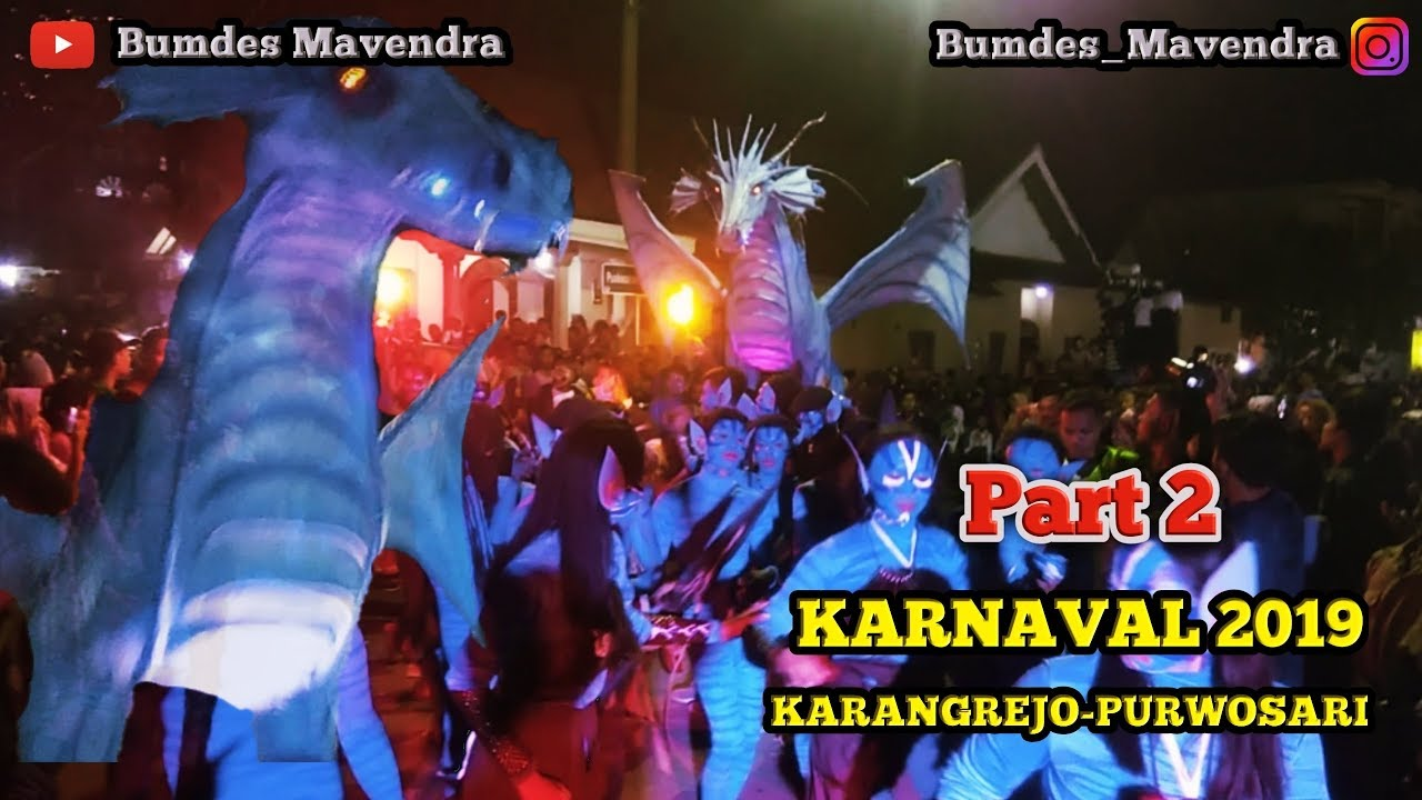 Karnaval 2019 Karangrejo Purwosari Part 2 Youtube