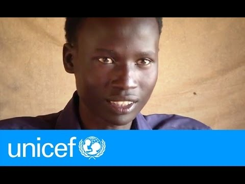 Displaced in South Sudan, Raymond, 18, shares his hopes for peace | UNICEF