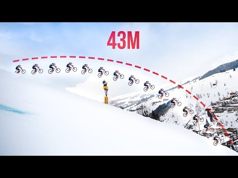 Longest Jump on a Mountainbike? *43m* - Behind the Scenes of Fabiolous Escape 2
