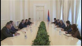 Սերժ Սարգսյանն ընդունել է Եվրասիական միջկառավարական խորհրդի անդամներին