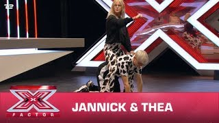 Jannick & Thea synger 'Mooo!' - Doja Cat (Audition) | X Factor 2020 | TV 2