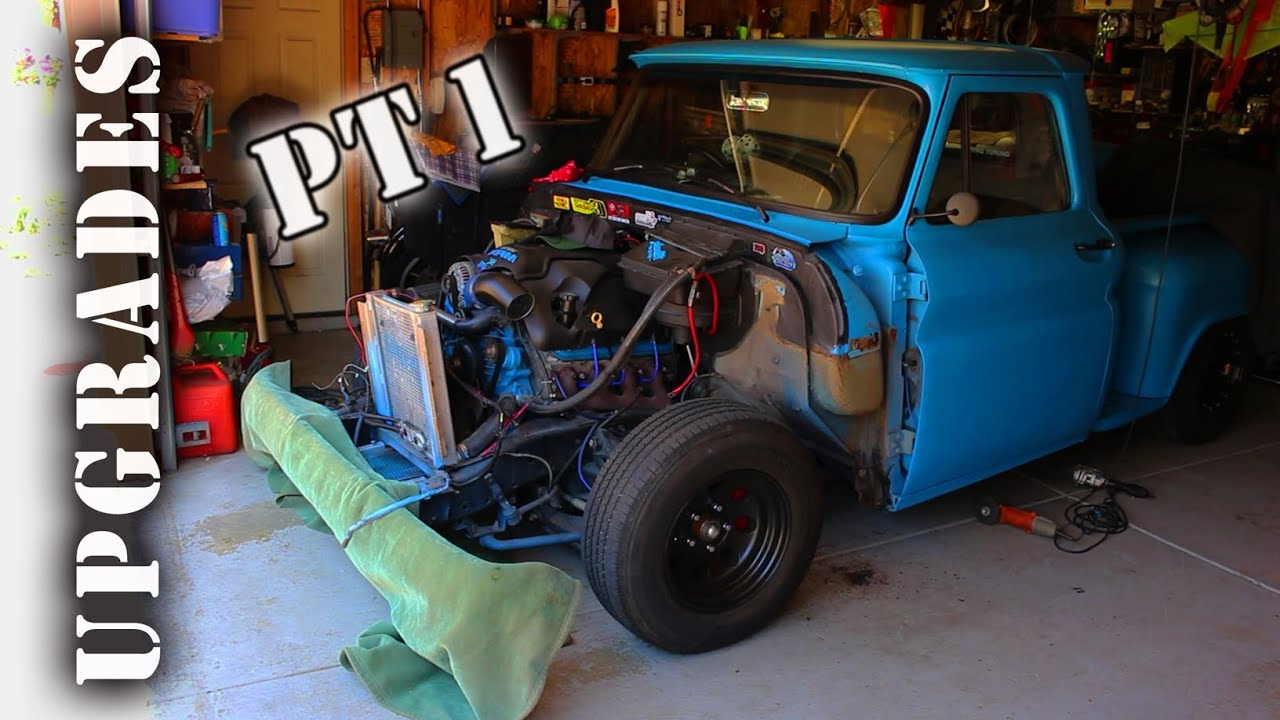 Lsx C10 Upgrades Pt1 Removing Front End Inner Fender