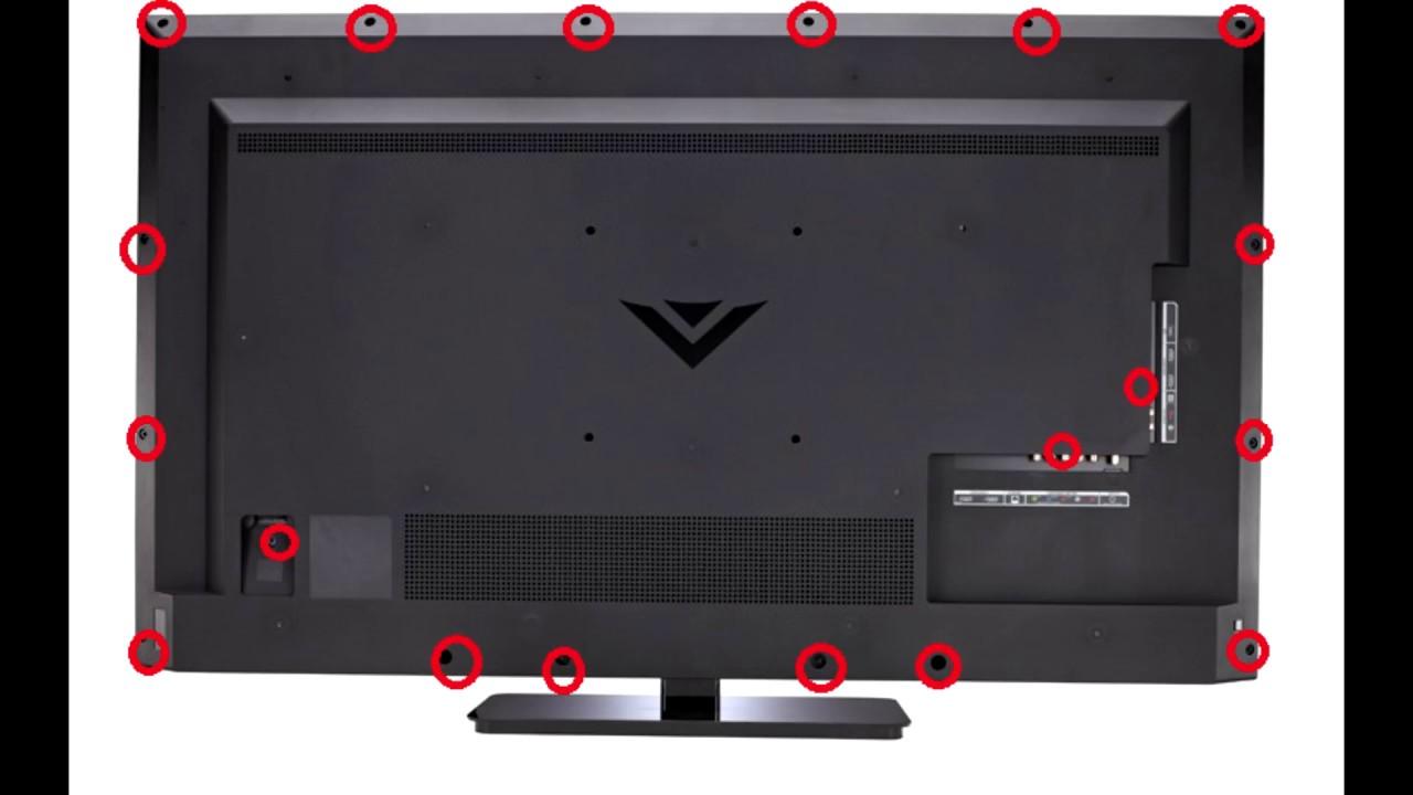 Fix Black Screen Vizio 50 Power Board Replacement E500bi B1
