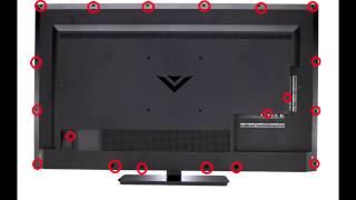 "Fix Black Screen Vizio 50"" - Power Board Replacement - E500Bi-b1"
