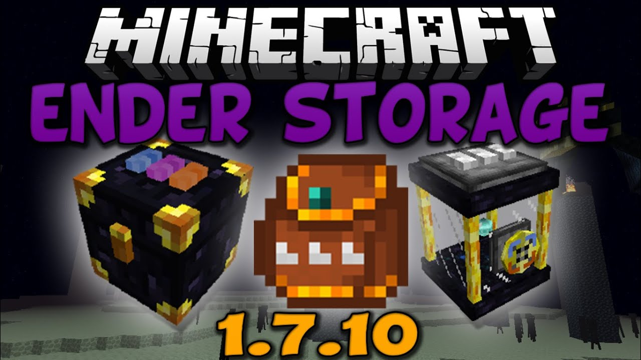 Minecraft: ender storage mod 1. 7. 10 (install guide included.