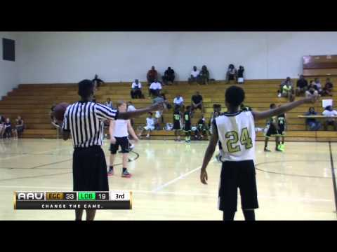 Elite Game Changers vs Lights Out Ballers (Tournament Championship)