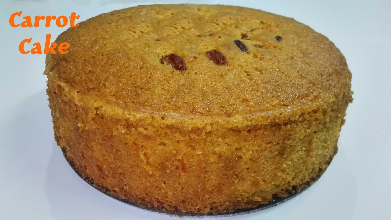 Carrot Cake In Pressure Cooker