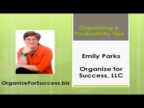 How to Organize Your Life & Productivity Tips: Weekly Strategy Session and Daily Productivity Tools