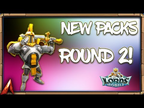 Round 2 With These New Packs! Lords Mobile