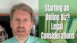 Starting an Online Business? Legal Considerations You Need to Be Aware Of...