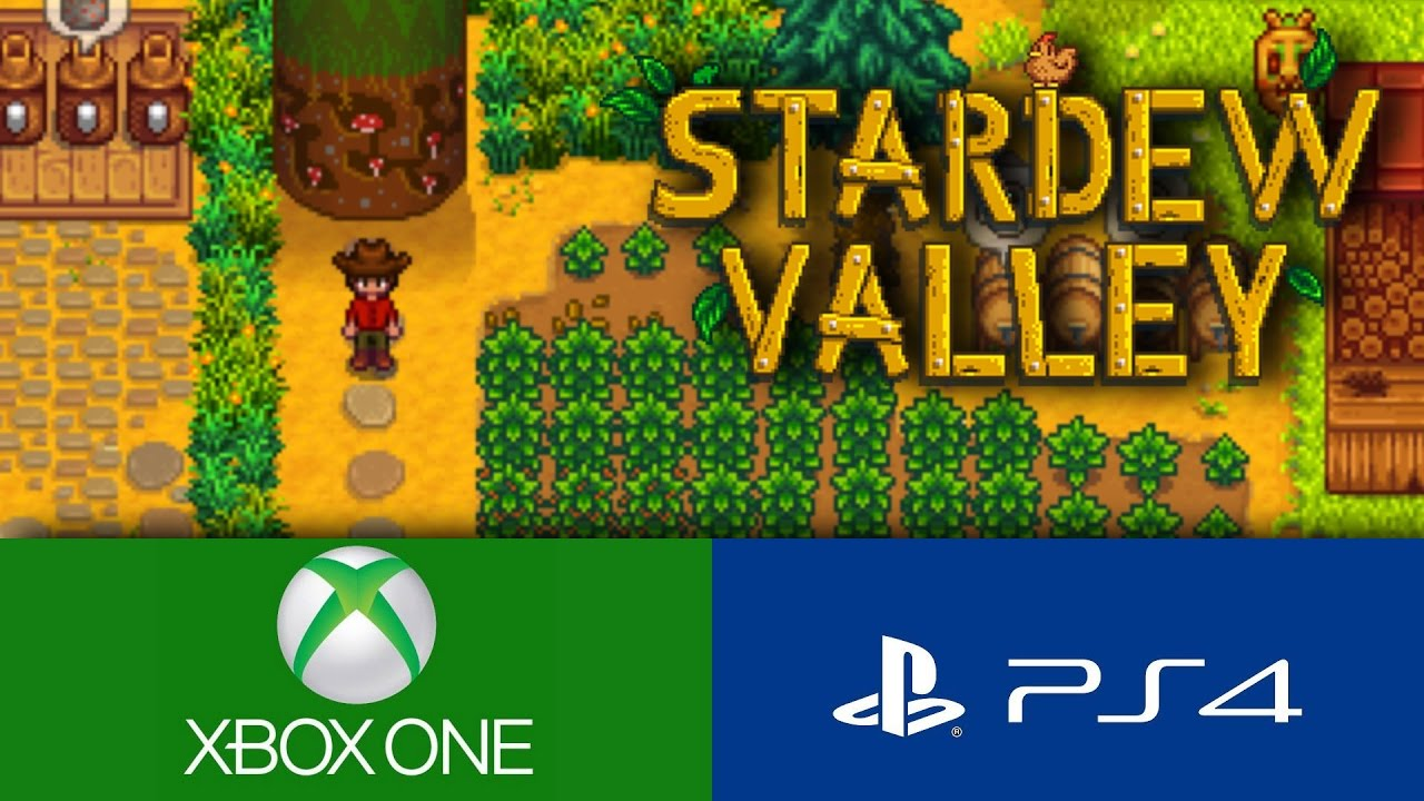 The New Harvest Moon Hits Console Stardew Valley Ps4