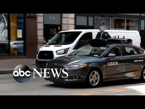 Uber Self Driving Car Rolls Out in Pittsburgh