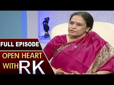Singer SP Sailaja Open Heart With RK | Full Episode | ABN Telugu