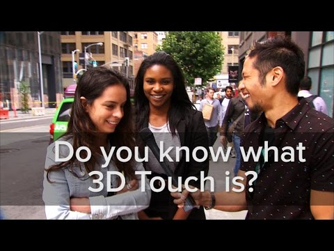 Do you know what 3D Touch is on the iPhone 6S?