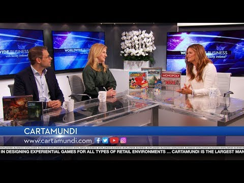 Cartamundi featured on Worldwide Business with kathy ireland®