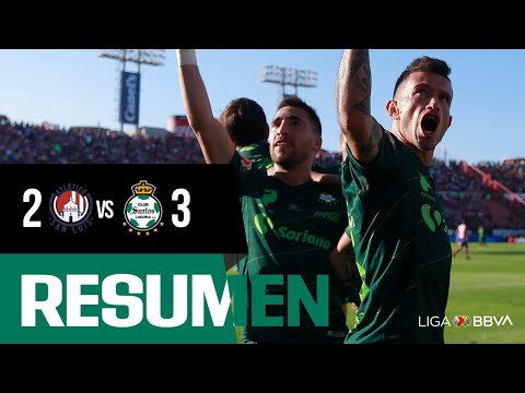 Resumen: San Luis 2-3 Santos Laguna - Jornada 10 Apertura 2019