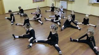 Видео-урок (I-семестр: декабрь 2017г.) - филиал Оборона, группа 3-6 лет, Детская Шоу-хореография