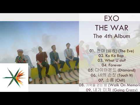 [Album] EXO – THE WAR – The 4th Album (MP3 DOWNLOAD)