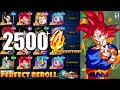 BEST EVER!? Impossible Perfect Reroll Summons 2500 Stones (Global)   Dragon Ball Z Dokkan Battle