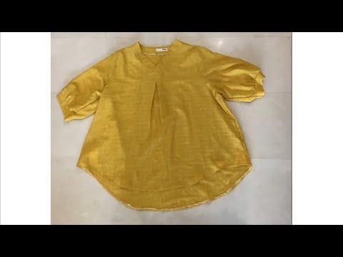 DIY 블라우스리폼/DIY clothes/옷리폼