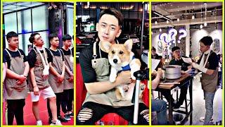 The Muddiest and Craziest Waiter in China | TikTok China | Life in China | Handsome waiter in China