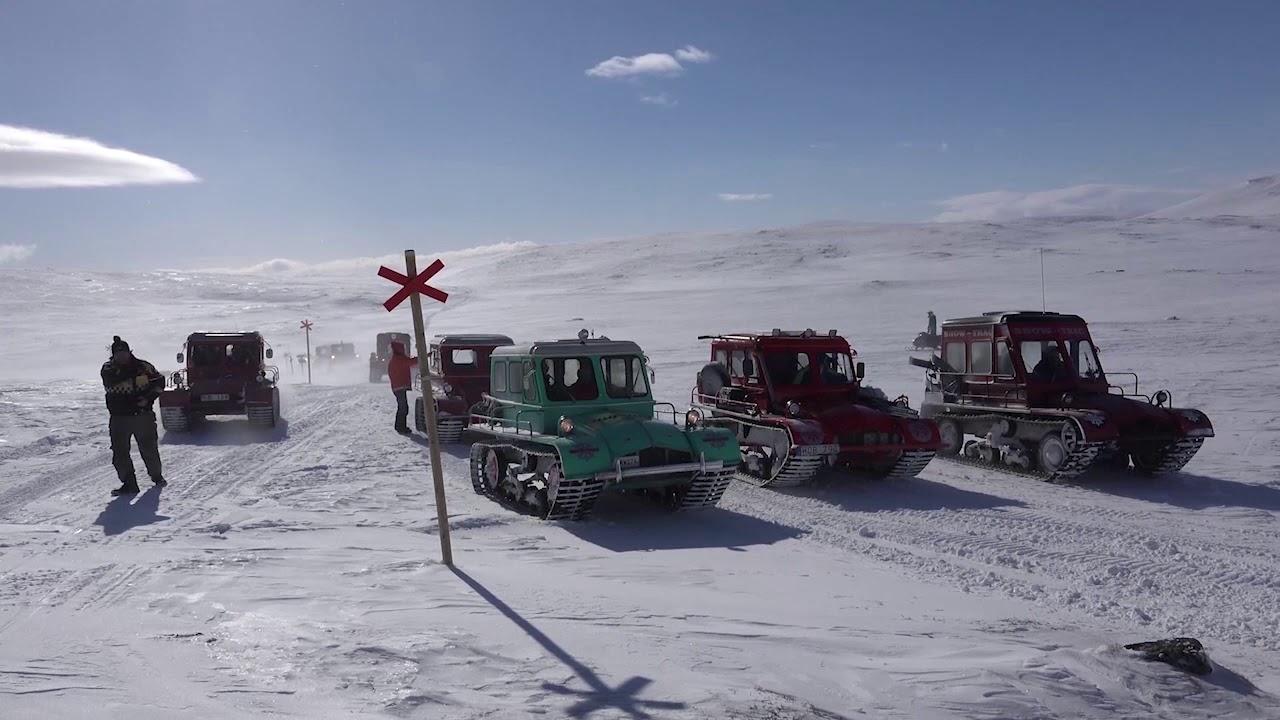 På tur med Snow-Trac
