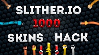Slither.io SKIN HACK | 1000 FREE SKINS | HOW TO CREATE OWN SLITHER.IO SKIN