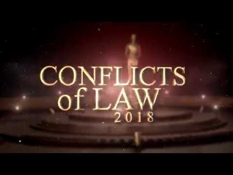 Conflicts of Law 2018