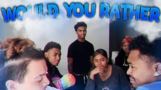 Would You Rather With Chuco & Squad !!
