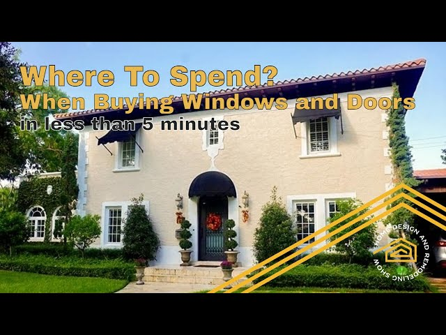 Where To Spend When Buying Impact Windows | MAXIMIZE Your Budget