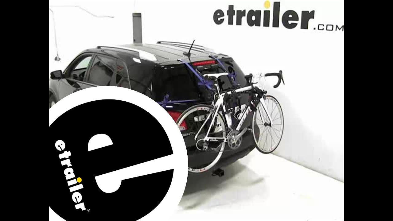 Review Of The Thule Passage Trunk Mounted Bike Rack On A 2013 Kia