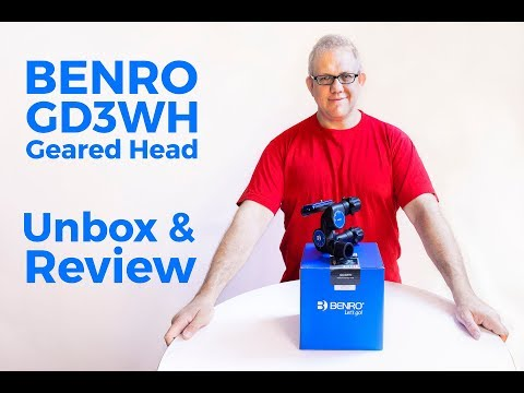 Benro GD3WH Geared Tripod Head - Unbox & Review