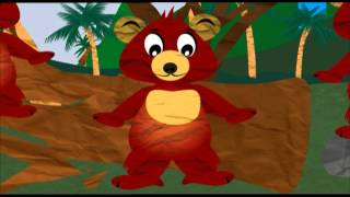 Сказка. Откуда у малайского медведя знак солнца на груди? Киндер Зу