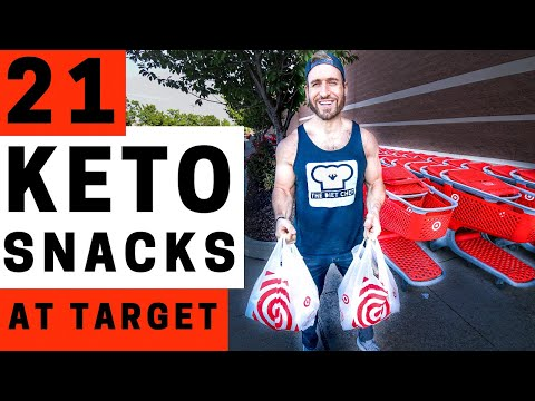 21 Keto Snacks At Target | BEST On The Go Low Carb Keto Snack Ideas For Travel, Work, & School