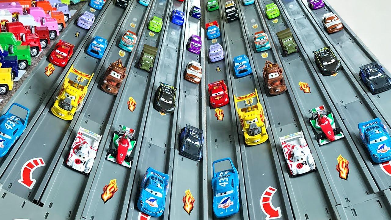Гоночные машины Тачки 3 Игры Гонки и Трасса Racing