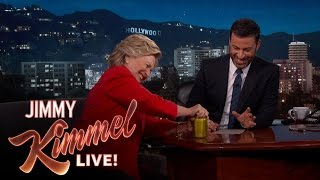 Hillary Clinton Proves She's in Good Health by : Jimmy Kimmel Live