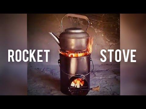 Como Hacer Una Estufa Rocket O Cohete Rocket Stove Casera Muy