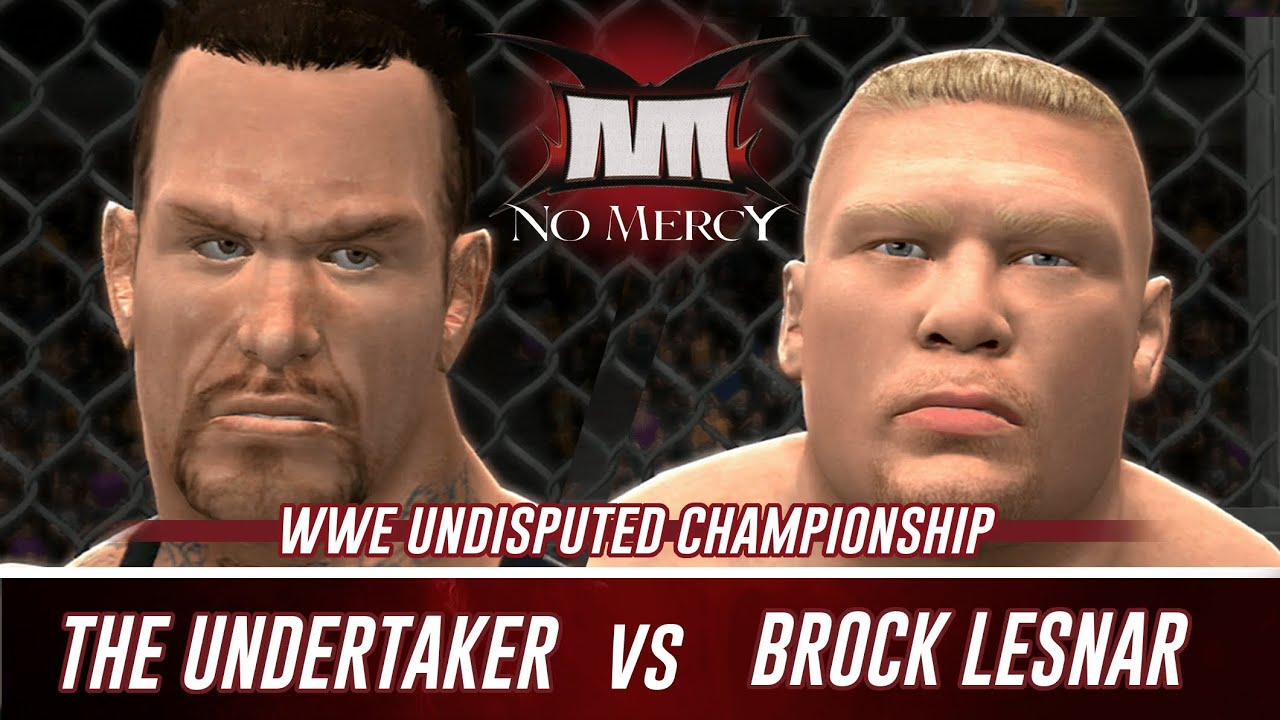 Undertaker Vs Brock Lesnar No Mercy 2002 WWE 2K14 No Mercy 2002...