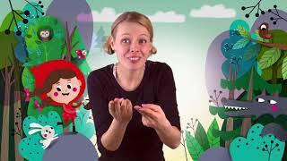 Červená karkulka - Markéta Zelenková - Pro neslyšící děti (český znakový jazyk)