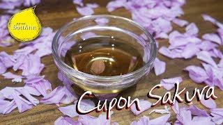 Сироп сакура. Сироп из лепестков цветов вишни.