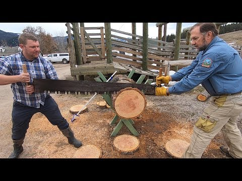 TOTAL STRANGER Drove 1000 Miles to Sharpen Antique Saw!