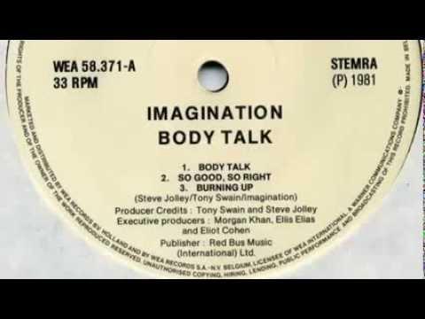 Imagination So Good So Right Original Vinyl Version