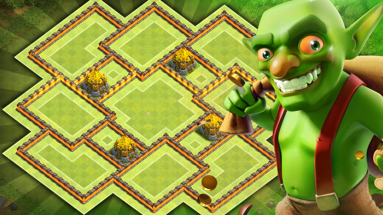Clash of clans new update th9 farming base coc best town hall 9