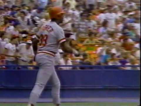 Cincinnati Reds Sweep 1986 Mets, Highlights