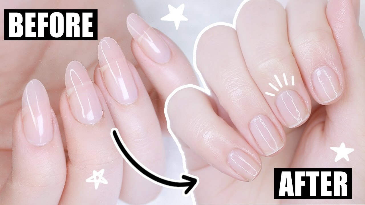 How To Remove Polygel Nails Youtube