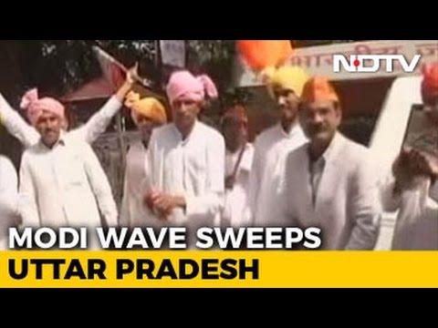 Modi Super-Wave Brings Saffron Holi For Uttar Pradesh