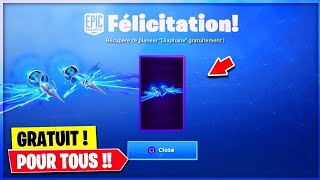 """EPIC GAME WE OFFRES THE PLANOR """"DIAPHANE"""" FREE On fortnite battle-royal!"""